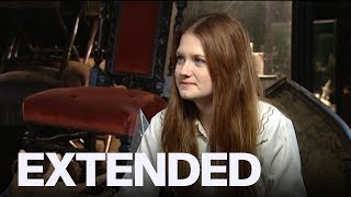 Bonnie Wright Talks Connection Between Ginny Weasley And Harry Potter   FROM THE VAULT