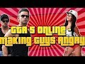 GTA 5 Online -  Making Guys ANGRY! ( Girl Voice Prank )