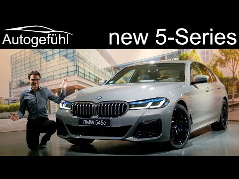 External Review Video fxh8EMki8WE for BMW 5 Series Sedan (G30) and Touring (Wagon, G31) (2020 Facelift)