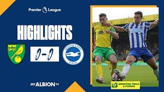 Norwich City 0-0 Brighton & Hove Albion Pekan 8