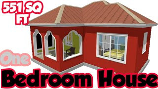 1 Bedroom House Plan For Single Apartment Brand New Homes Designs Floor Plans