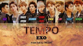 EXO   TEMPO    [Arabic Sub] (Color Coded)