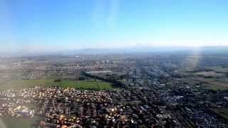 preview picture of video 'Vueling A320 landing at Fiumicino International Airport in Rome, Italy'
