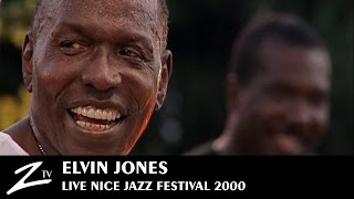 Elvin Jones - Nice Jazz Festival 2000 - LIVE