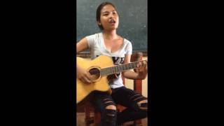 Tatlong Bebe  + Roses + Middle + Habits  MashUp cover by J-Nissi Elisha Calibo