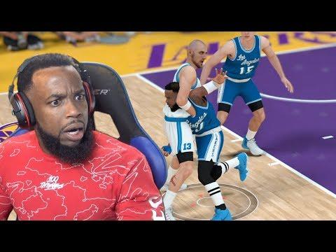 Gortat Put Me In A Headlock!! Lakers vs Kings NBA 2K19 MyCareer Ep 97