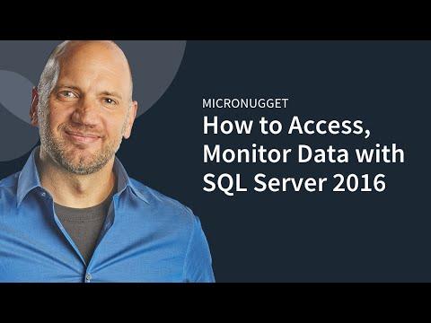 Microsoft MCSA SQL Server 2016 70-764 - YouTube