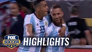 Otamendi's header gives Argentina 1-0 lead vs. Panama | 2016 Copa America Highlights by FOX Soccer