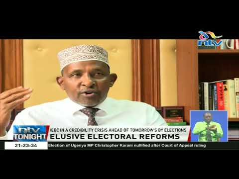 IEBC in a credibility crisis ahead of tomorrow's by elections