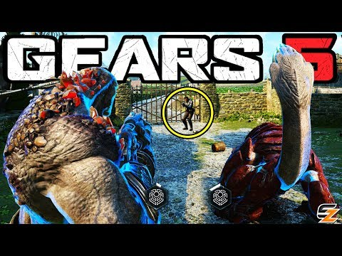 GEARS 5 Gameplay - Every Playable SWARM & DEEBEE Character! NEW Future Game Mode!?