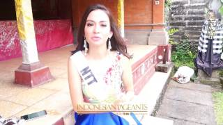 Puteri Indonesia 2017 Behind the scenes Quarantine Photoshoot in Bali