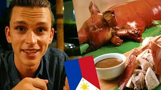 TRYING LECHON FOR THE FIRST TIME IN THE PHILIPPINES / BEST LECHON ?