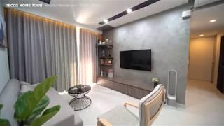 [Decox Home Tour] Thi công nội thất căn hộ Kingston Residence 82m2 theo...