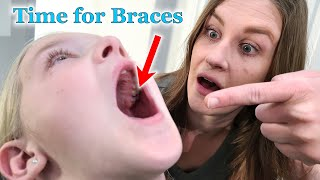 Trinity Gets Her Spacers In!!! Getting Ready for Braces!
