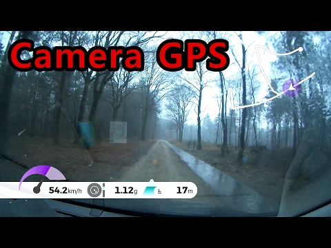Tomtom Bandit GPS data inscreen Offroad