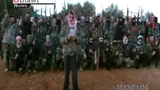 تشكيل كتيبة عمر المختار في إدلب   أموي سوريا لطرد الاحتلال النصيري