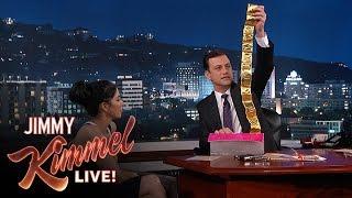 Jimmy Kimmel Goes Through Sarah Silverman's Purse