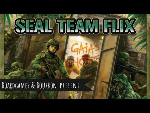 Review Seal Team Flix: Unique, Thematic, & All About the Campaign (by Boardgames & Bourbon)