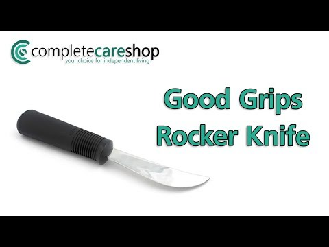 Good Grips Rocker Knife Demo