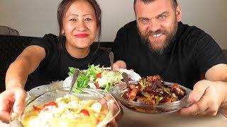 BHUTANESE FOOD MUKBANG/ PHAKSHA BEXUZ+KEWA DATSHI[SHOUT OUT]