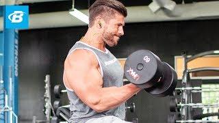 Arm-Building Superset Workout | Brian Casad 出處 Bodybuilding.com