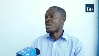 Mr Benson Wemali, a certified environmental inspector slams