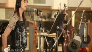 "Charlotte Gainsbourg and Beck performing ""Heaven Can Wait"" on KCRW"
