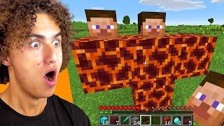 Fighting SECRET BOSSES In Minecraft!