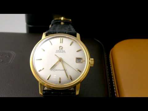 1960s 18K Gold Dress Watches – Omega, Patek Philippe