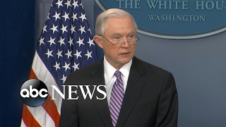 AG Jeff Sessions takes aim at sanctuary cities, says DOJ will cut funding