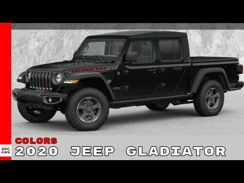 2020 Jeep Gladiator Open Air Pickup Truck Car Tv Video