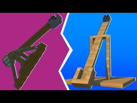 Noob VS. Pro Explosive Catapult Challenge - Scrap Mechanic   JeromeACE