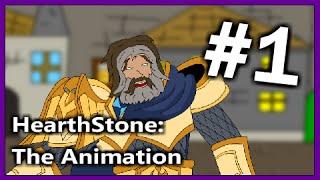 HearthStone Cartoon: Uther VS Anduin. Animation #1