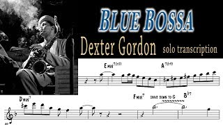sax alto dexter gordon sheet music - Free video search site