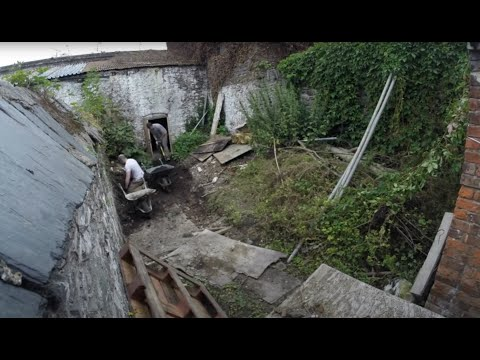 Download 1820s Georgian House Garden Clearance - Time Lapse