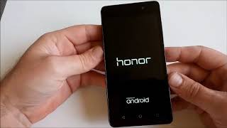 Honor 4c factory reset