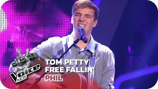 Tom Petty - Free Fallin' (Phil) | Blind Auditions | The Voice Kids 2018 | SAT.1