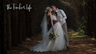 Off-Grid Forest Wedding: Timbers Tie The Knot