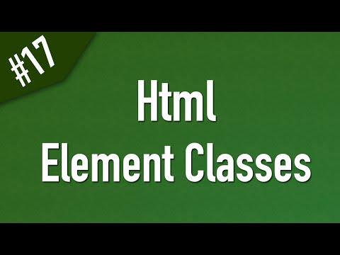 تعلم Html القائمة #1 الفديو #17