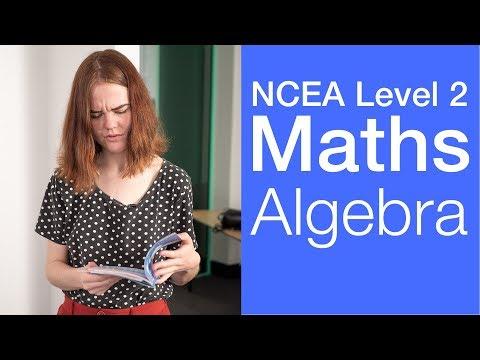 Algebra   NCEA Level 2 Maths Strategy Video   StudyTime NZ