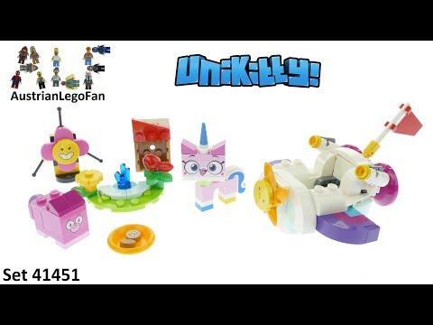 Vidéo LEGO Unikitty 41451 : La voiture dans les nuages de Unikitty
