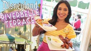 Finally!! Dining at Disneyland's River Belle Terrace Restaurant! - Video Youtube