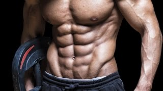 His 10-pack abs are insane!!!