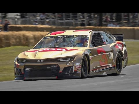 Richard Childress Racing's 2019 Chevrolet Camaro ZL1 NASCAR Cup Race Car in action!