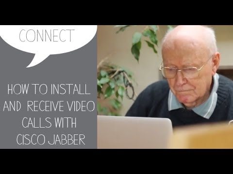 How to guide: install and receive a video call using Cisco Jabber