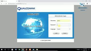 LTE 4G WiFi USB Modem Change Admin Password