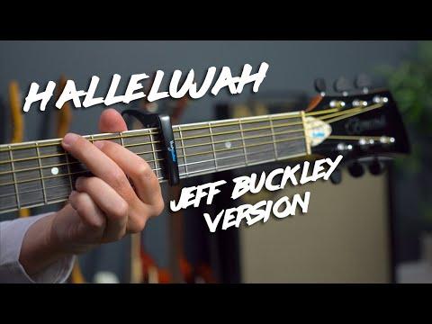 Hallelujah simple guitar lesson tutorial (Jeff Buckley Leonard Cohen)