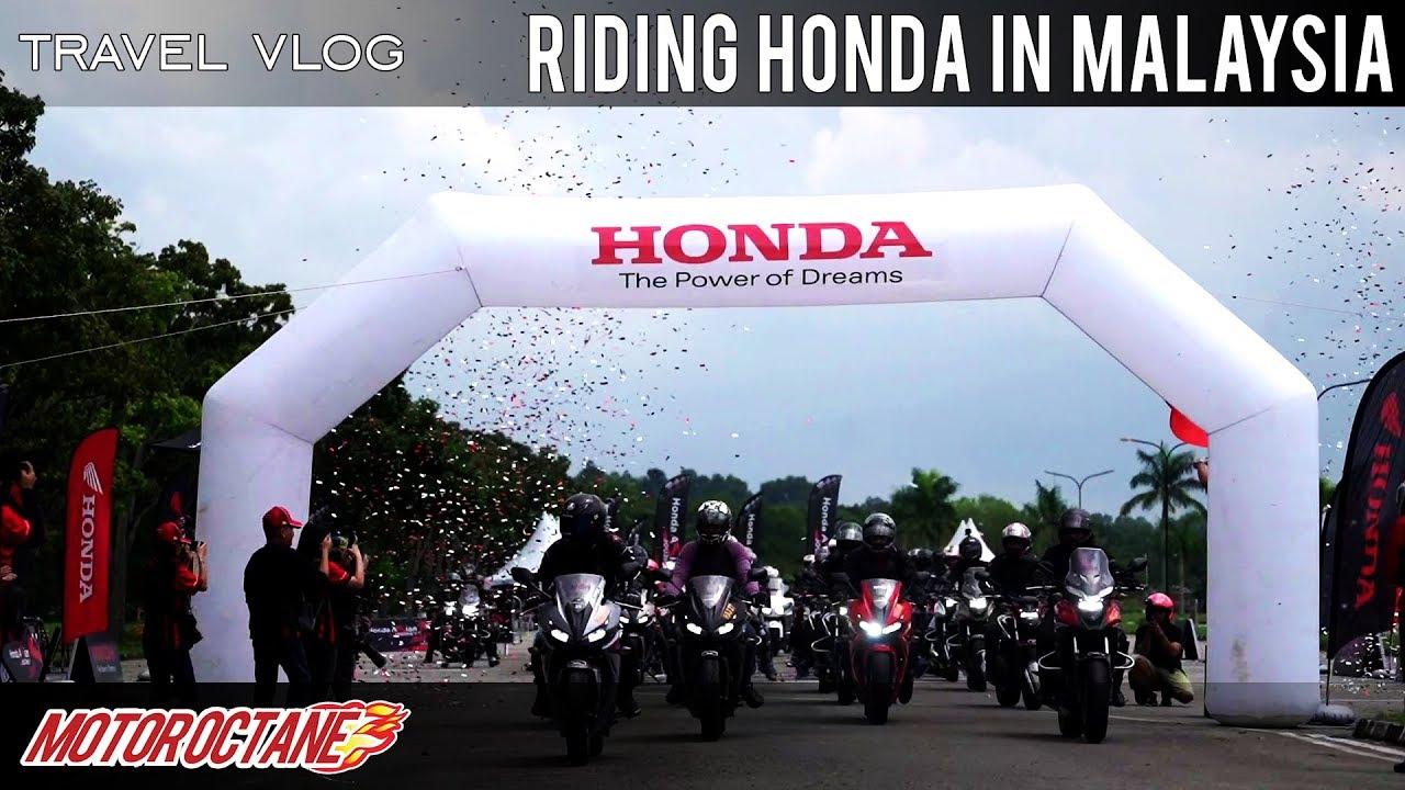 Motoroctane Youtube Video - We ride many Honda bikes in Malaysia   Honda Asian Journey 2018   MotorOctane