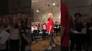 Sarah Connor So Sieht Man Uns Beim Chor Einfach Nur Klasse