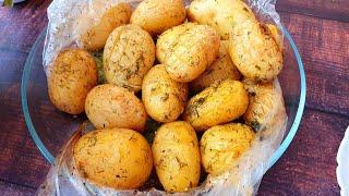 Молодая картошка! Один из вкуснейших рецептов! Jeune pomme de terre!